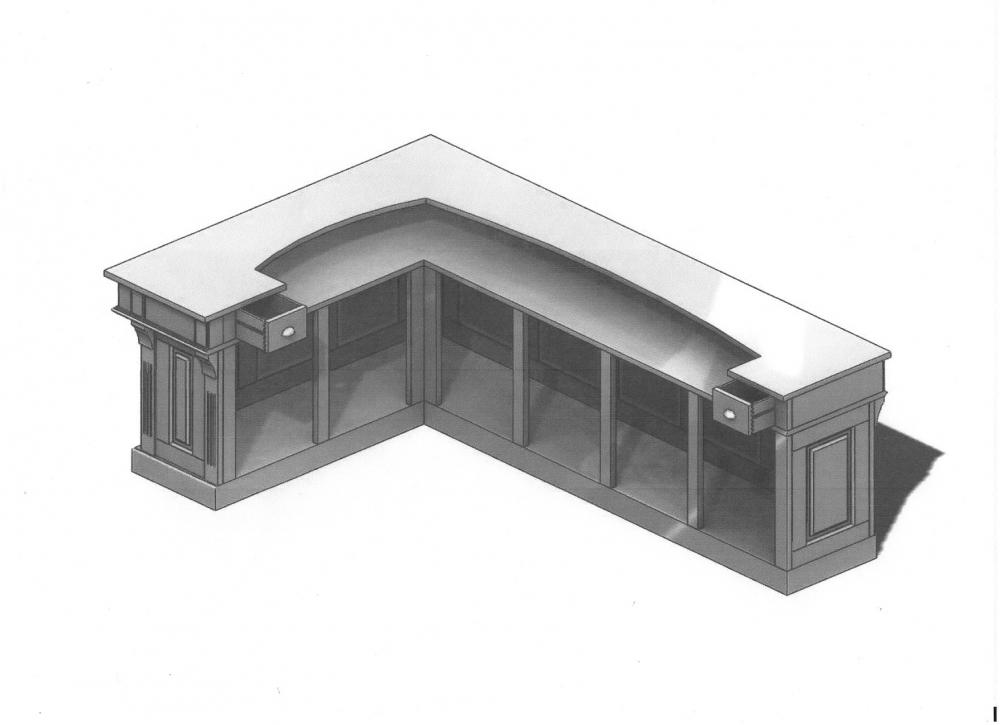IMADH Le meuble en bois Plan de votre Bar